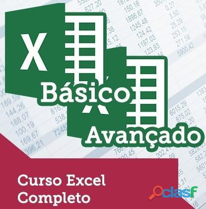 Excel básico ao avançado