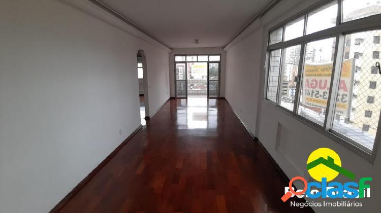 Belíssimo apartamento 3 dormitórios na álvaro alvim - embaré santos