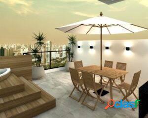 Cobertura 2 dormitórios com jacuzzi - bairro jardim - santo andré