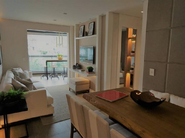 Apartamento decorado a venda 68 m², 02 quartos e uma