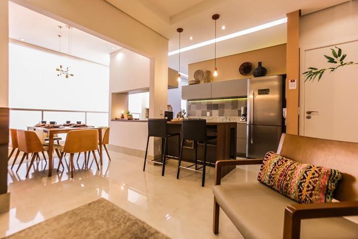Apartamento para venda tem 87 metros quadrados com 3 quartos