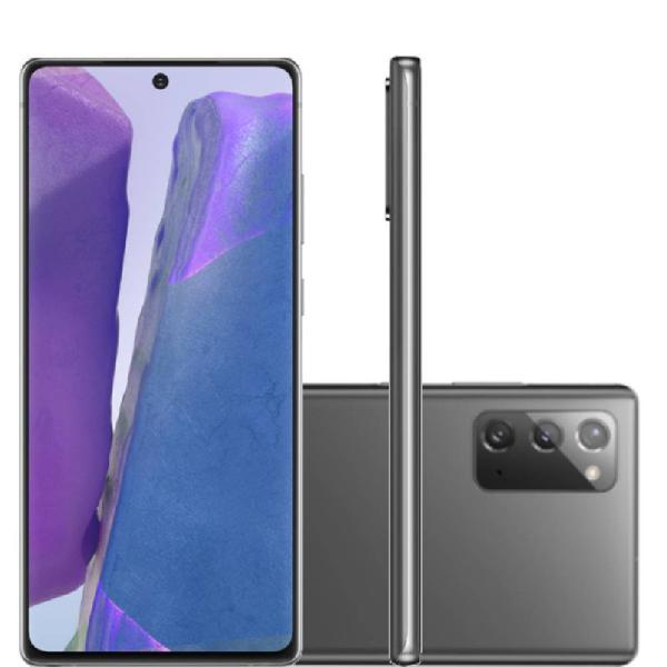 """Smartphone samsung galaxy note 20 tela 6,7"""" ram 8gb 256gb"""