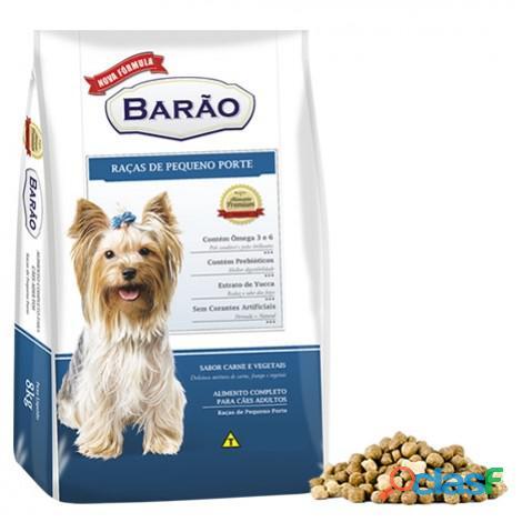 Ração barão premium cães adulto raças de pequeno porte (2,7 kg   8 kg   25 kg)