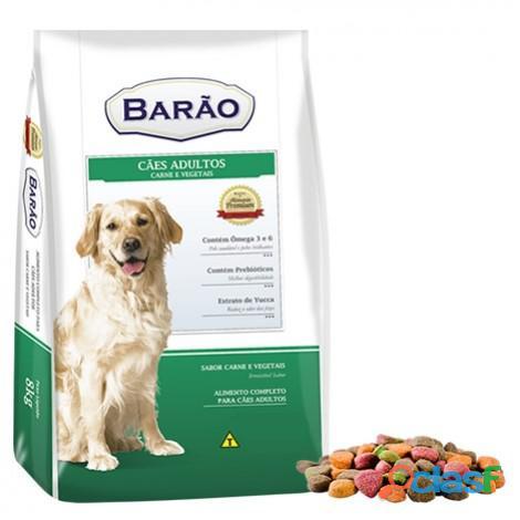 Ração Barão Premium Carne e Vegetais 25 kg