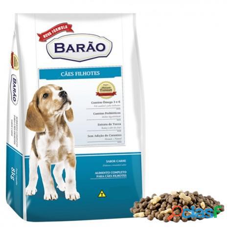 Ração Barão Premium Filhotes   2,7 kg   8 kg   25 Kg   Sem Corantes