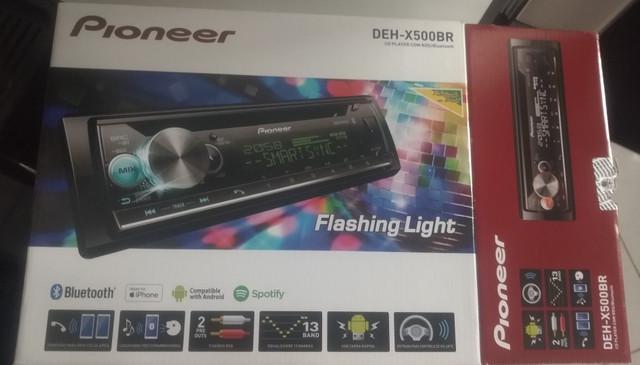 Cd pioneer deh-x500br