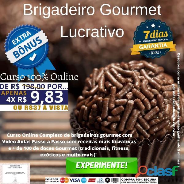 Brigadeiro Gourmet lucrativo (Curso Online)