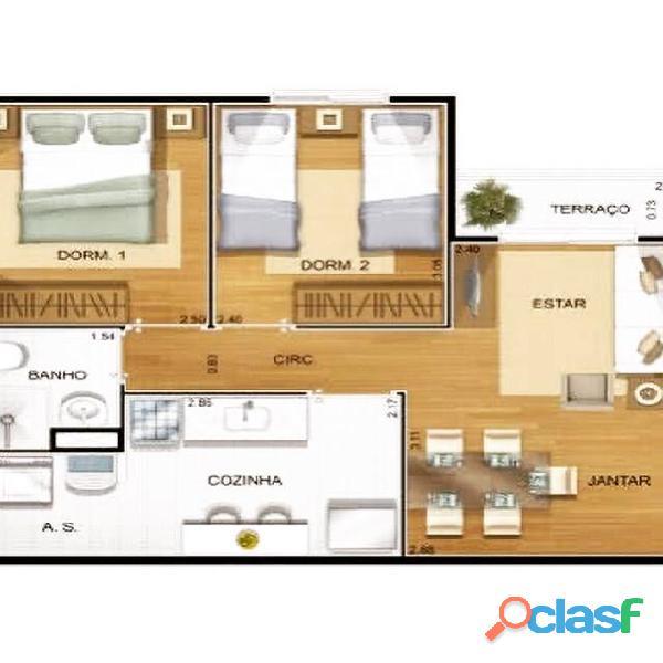 Apartamento possui 52 metros quadrados com 2 quartos VILA MOREIRA. 4