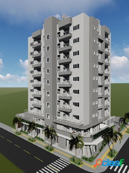 Apartamentos na planta de 93,51m² com 2 dormitórios sendo um suíte!