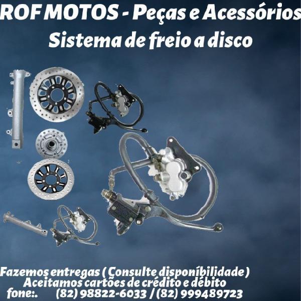 Em maceió-al - peças de sistema de freio a disco para moto