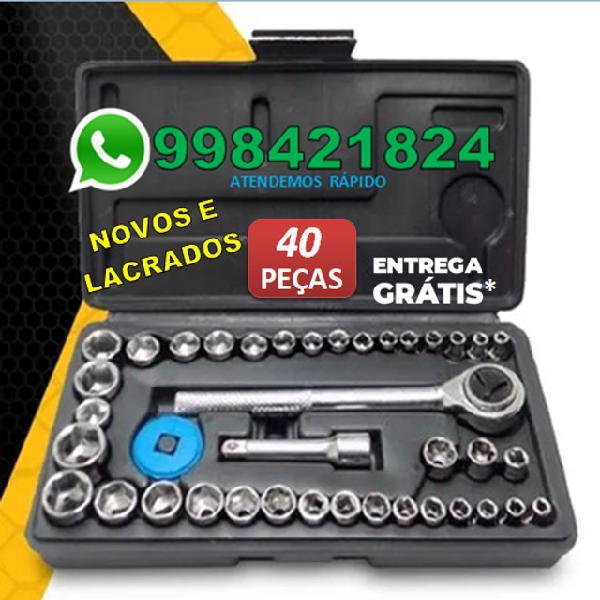Entrega grátis*)jogo de chaves soquete/catraca reversível