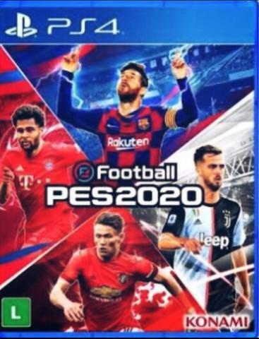 Game pes 2020 ps4 - ótimo estado