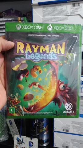 Jogo novo rayman legends xbox 360 xbox one. entrega grátis