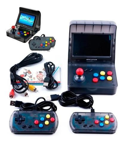 Mini arcade fliperama retro vídeo game portátil 3000 jogos