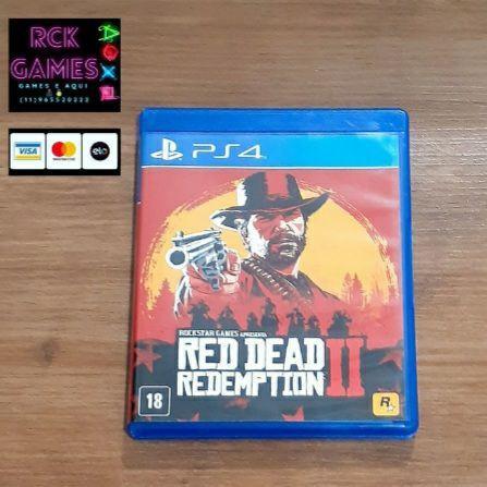 Red dead 2 ps4 e ps5