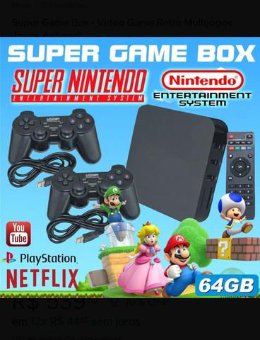 Super game box - video game retro multijogos jogos antigos