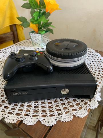 Xbox 360 rgh vai com uns 20 jogos e 1 controle !! aceito