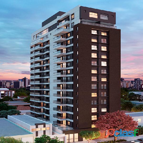 venda apartamento em obra com 52 m² no tempus moema