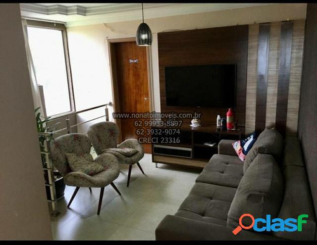 Apartamento cobertura duplex para venda, 3 quartos, goiânia 2