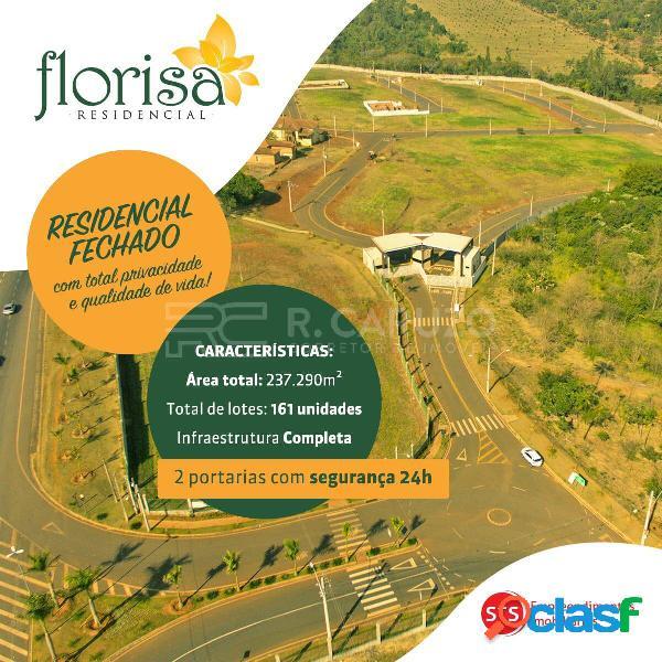 Terrenos residenciais - condomínio residencial florisa