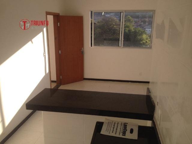 Apartamento com 2 quartos em santa luzia - còd: 591