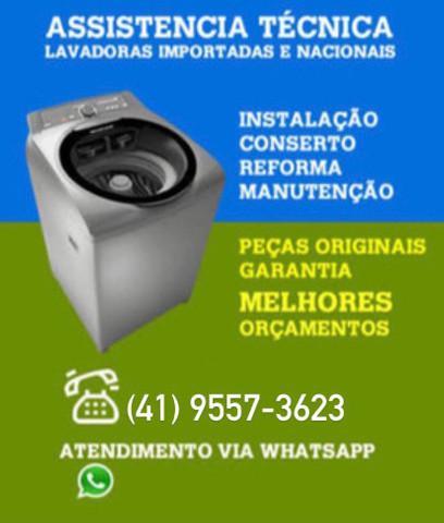 Assistência técnica de máquina de lavar roupa