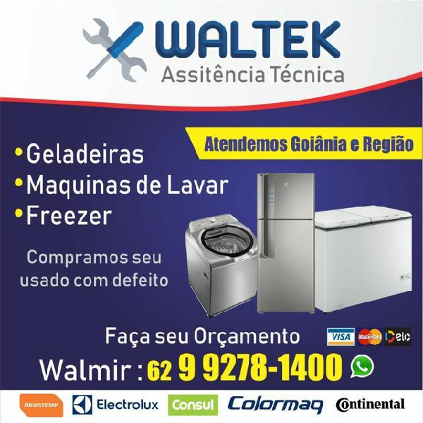 Assistência técnica geladeira e máquinas assistência