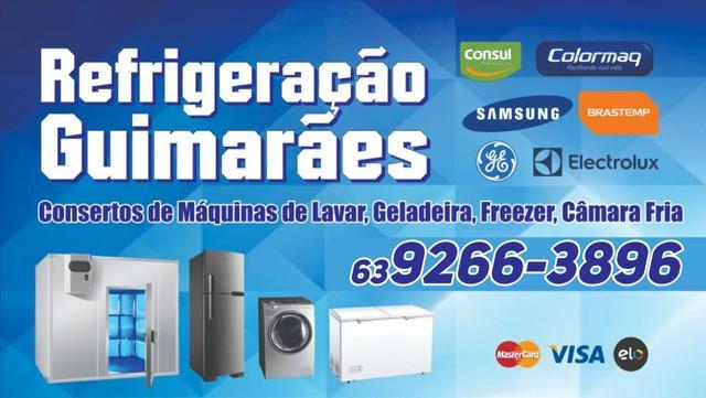 Conserto de geladeiras, máquinas de lavar, freezer e