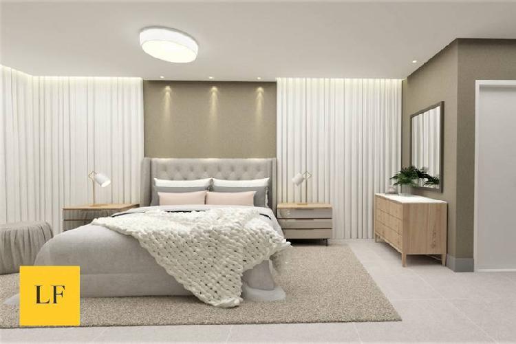 Apartamento alto padrão com planta e acabamento exclusivo.