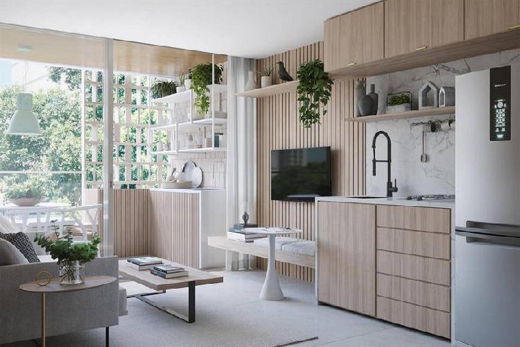 Apartamento de 42m² com 1 quarto no jardim botânico - rio