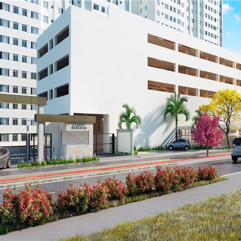 Apartamentos prontos e semiprontos 2 dormitorio 44m² com