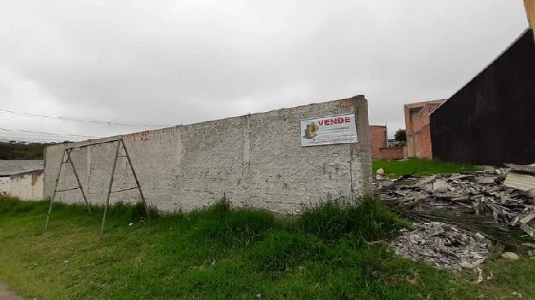 Lote/terreno para venda possui 670 metros quadrados em borda