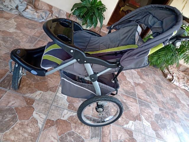 Carrinho 3 rodas e bebê conforto trend expedition elx