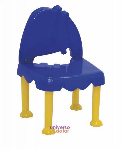 Cadeira tramontina infantil monster em polipropileno amarelo
