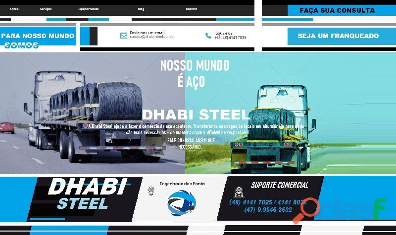 A dhabi steel transporta aço longo vergalhões ca50