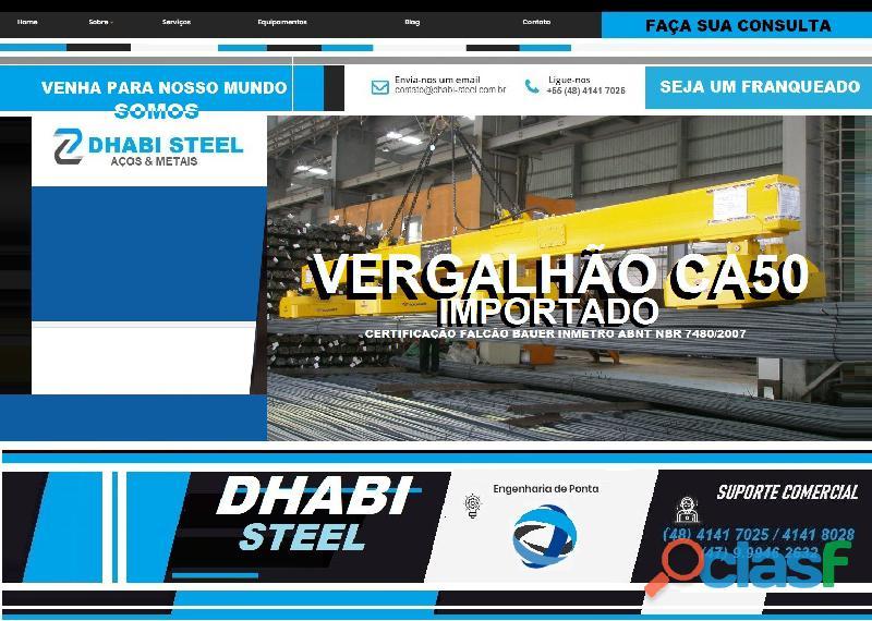 Vergalhão de aço CA50 Importado da Turquia 3