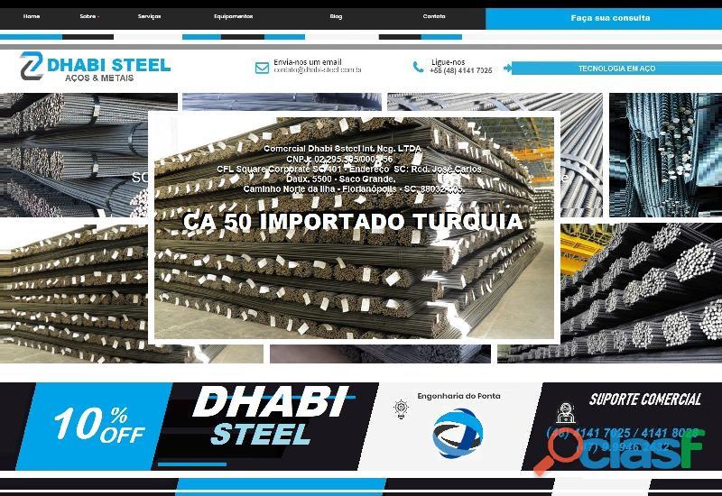 Vergalhão de aço CA50 Importado da Turquia 4