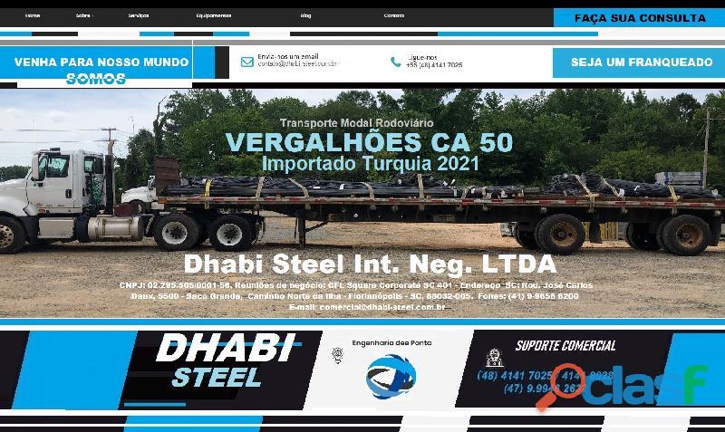 Vergalhão de aço CA50 Importado da Turquia 7