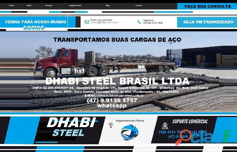 Vergalhão de aço CA50 Importado da Turquia 8