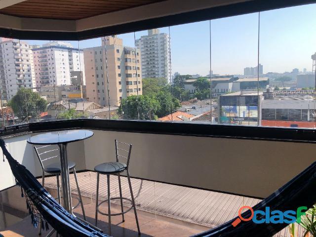 Apartamento 4 dormitórios 2 suítes 140 m² em santo andré   bairro jardim.