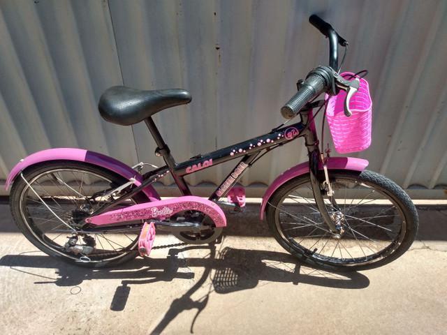 Bicicleta infantil aro 20 caloi barbie