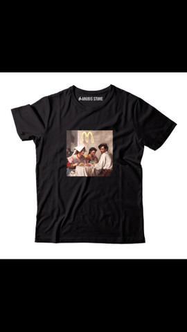 Camisa camiseta blusa hype comida food santa ceia tumblr