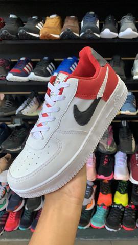 Nike air force 01 nba original de couro