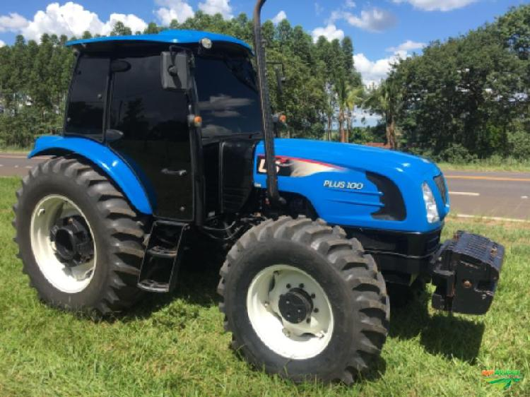 Trator ls tractor plus 100c 4x4 ano 15