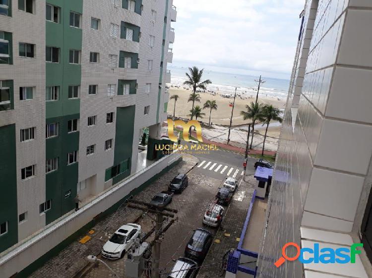 Apartamento 02 dorms a 50 metros da praia - guilhermina