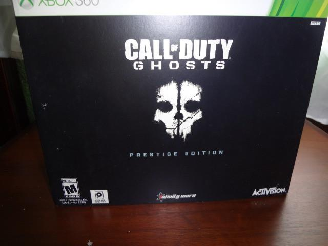 Call of duty - ghosts - prestige edition xbox 360 [box