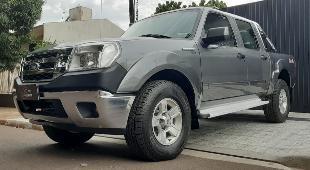 Ford ranger xlt 3.0 diesel 4x4 completa, 4 pneus novos.