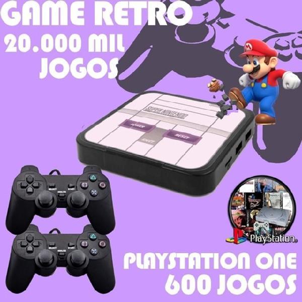 Vídeo game retro com 20.000 jogos embutidos / console de