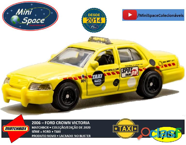 Matchbox 2006 Ford Crown Victoria Taxi 1/64