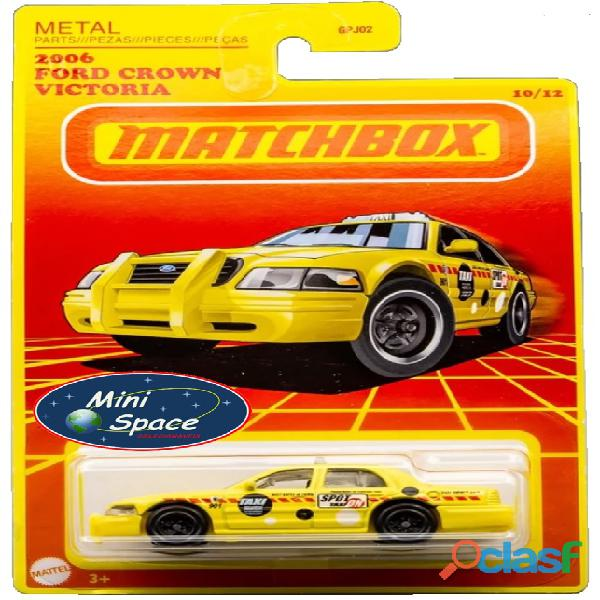 Matchbox 2006 Ford Crown Victoria Taxi 1/64 10